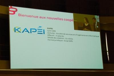 Kapei est présentés à l'assemblée